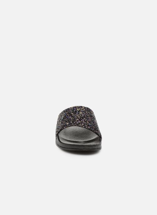 Mules et sabots Victoria Sandalia Pala Glitter Noir vue portées chaussures