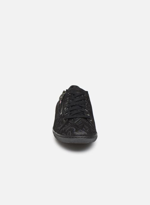 Baskets Mephisto Hawai Noir vue portées chaussures
