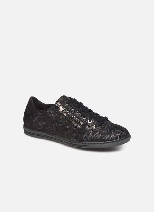 Sneakers Mephisto Hawai Zwart detail