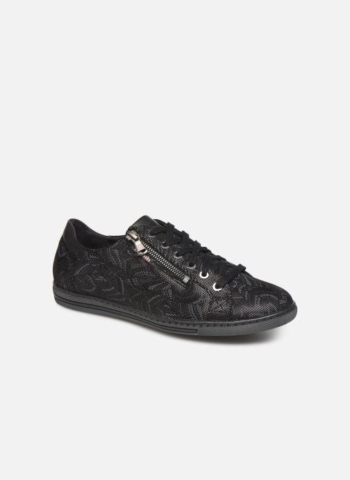 Baskets Mephisto Hawai Noir vue détail/paire