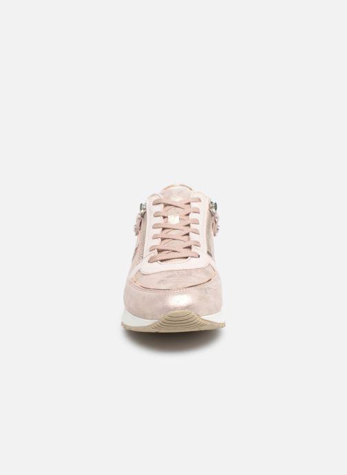 Sneaker Mephisto Toscana rosa schuhe getragen