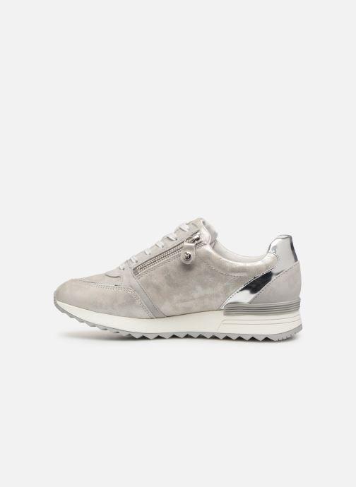 Sneakers Mephisto Toscana Zilver voorkant