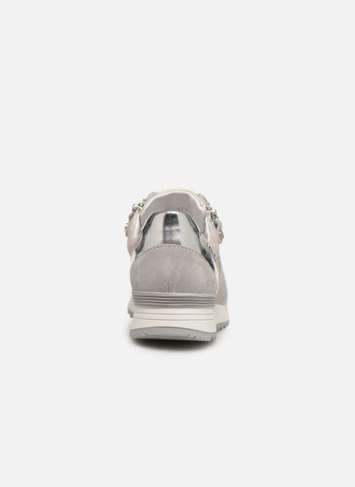 Sneakers Mephisto Toscana Zilver rechts