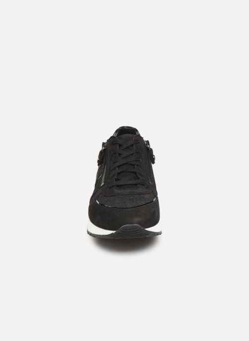 Baskets Mephisto Toscana Noir vue portées chaussures