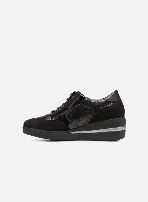 Sneakers Mephisto Patrizia Zwart voorkant