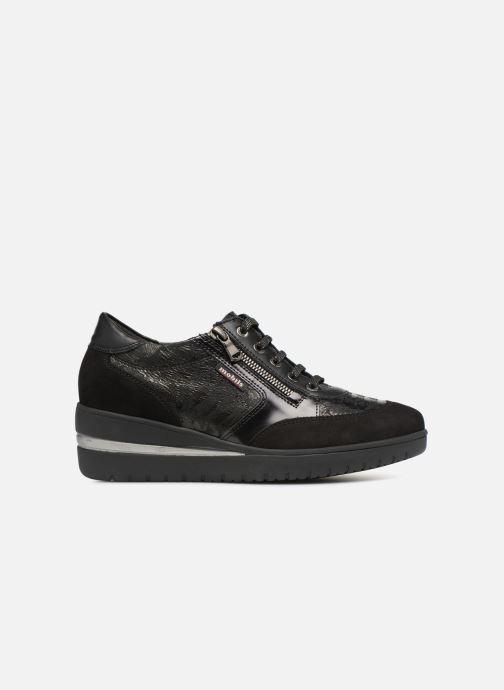 Sneakers Mephisto Patrizia Zwart achterkant