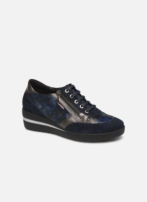 Sneaker Mephisto Patrizia blau detaillierte ansicht/modell