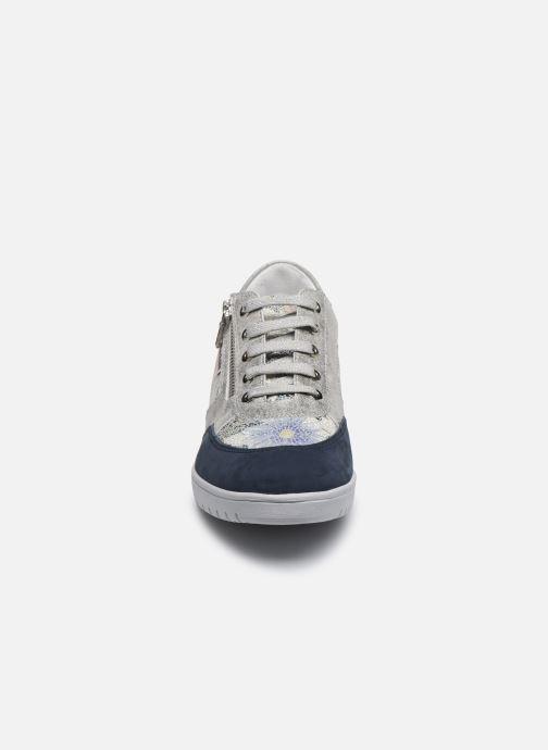 Baskets Mephisto Patrizia Bleu vue portées chaussures
