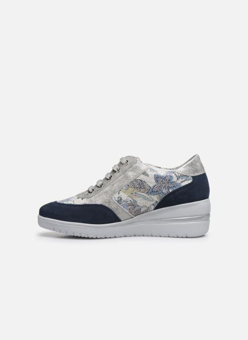 Sneakers Mephisto Patrizia Blauw voorkant
