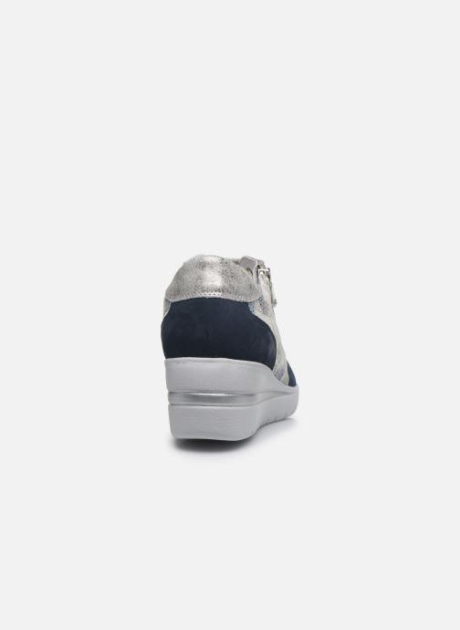 Sneakers Mephisto Patrizia Blauw rechts