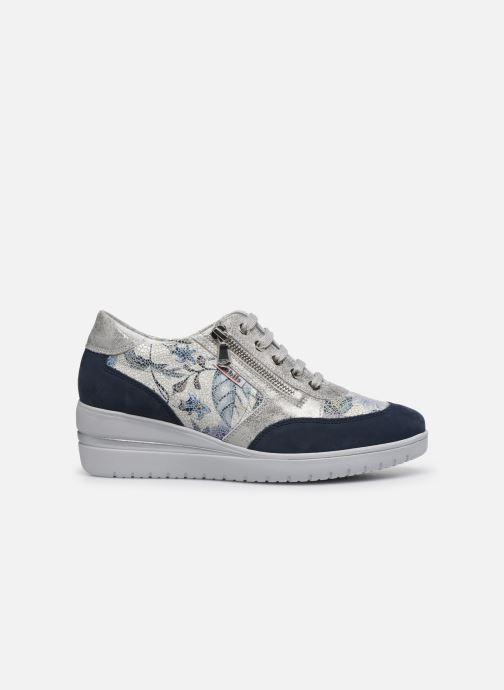 Sneakers Mephisto Patrizia Blauw achterkant