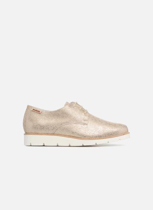 Zapatos con cordones Mephisto Aurelie Oro y bronce vistra trasera