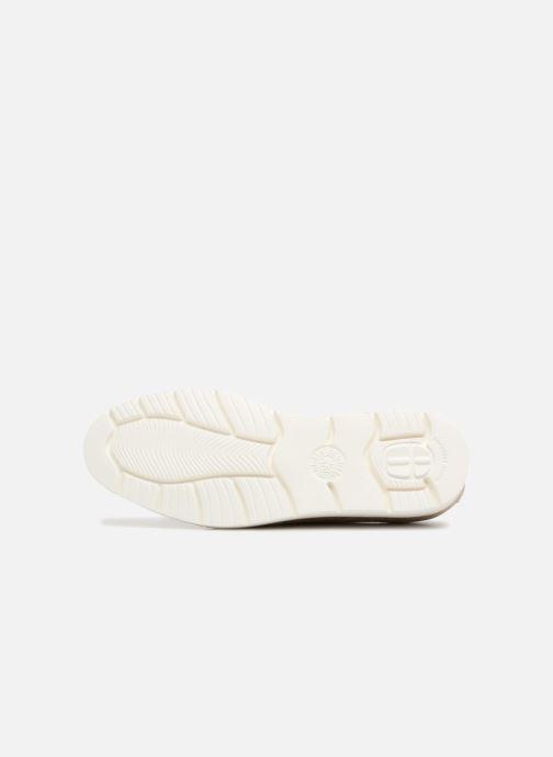 Chaussures à lacets Mephisto Aurelie Or et bronze vue haut