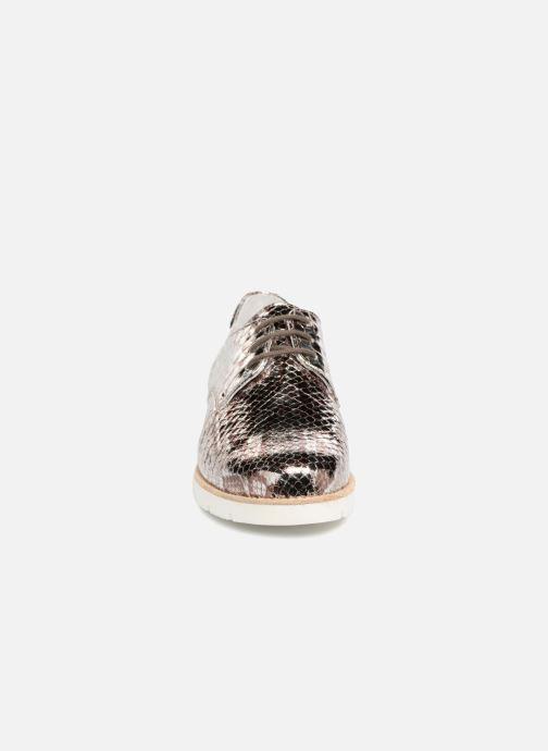 Chaussures à lacets Mephisto Aurelie Argent vue portées chaussures