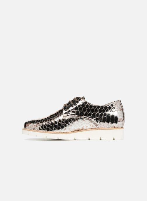 Zapatos con cordones Mephisto Aurelie Plateado vista de frente
