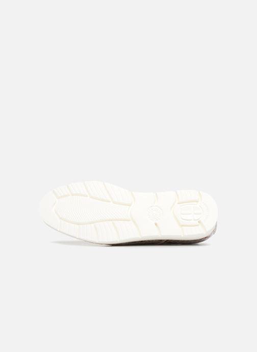 Chaussures à lacets Mephisto Aurelie Argent vue haut