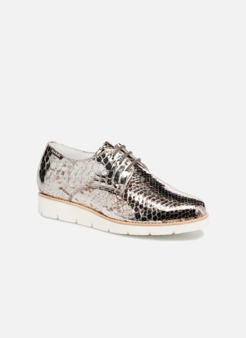 Chaussures à lacets Mephisto Aurelie Argent vue détail/paire
