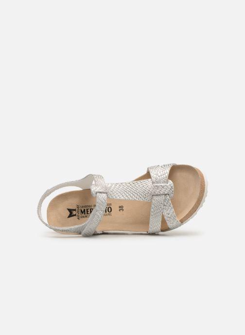 Sandales et nu-pieds Mephisto Liviane Blanc vue gauche