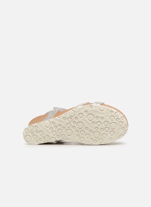 Sandales et nu-pieds Mephisto Liviane Blanc vue haut