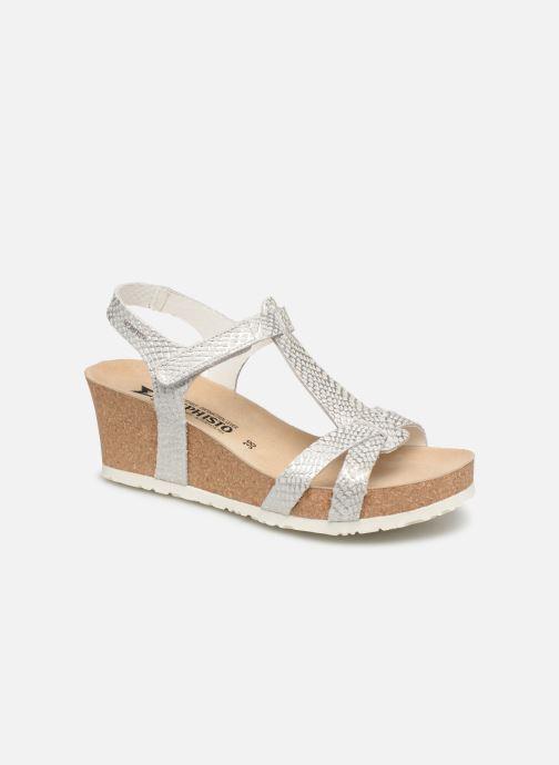 Sandales et nu-pieds Mephisto Liviane Blanc vue détail/paire