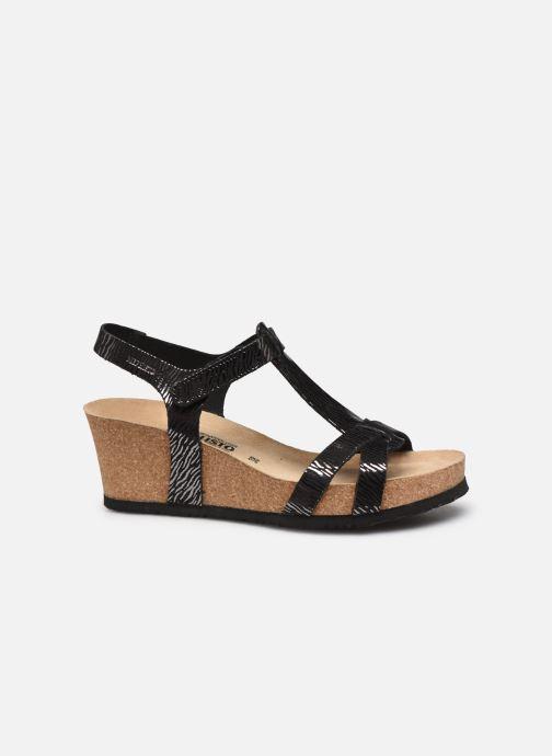 Sandales et nu-pieds Mephisto Liviane Noir vue derrière