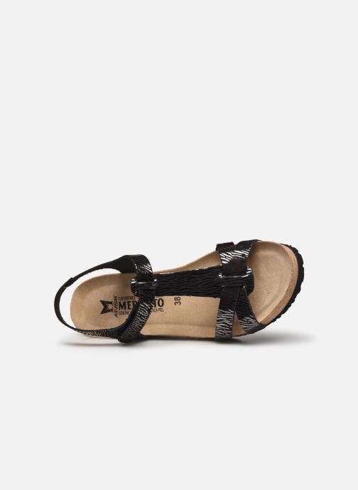 Sandales et nu-pieds Mephisto Liviane Noir vue gauche