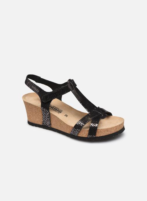 Sandales et nu-pieds Mephisto Liviane Noir vue détail/paire