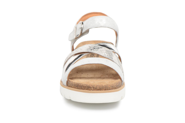 Sandales et nu-pieds Mephisto Thina Argent vue portées chaussures