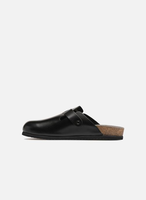Slippers Mephisto Nathan Black front view