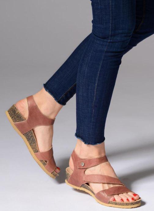 Sandales et nu-pieds Think! Dumia 84370 Rose vue bas / vue portée sac