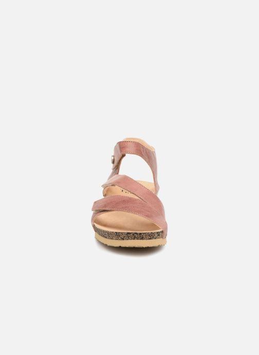 Sandales et nu-pieds Think! Dumia 84370 Rose vue portées chaussures