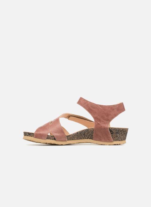 Sandales et nu-pieds Think! Dumia 84370 Rose vue face