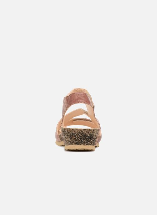 Sandales et nu-pieds Think! Dumia 84370 Rose vue droite