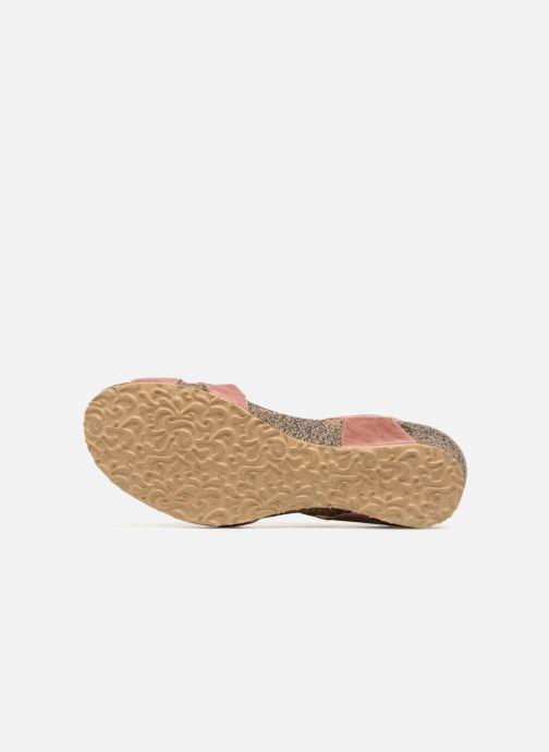 Sandales et nu-pieds Think! Dumia 84370 Rose vue haut