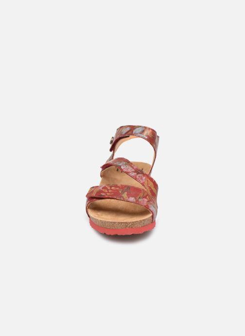 Sandales et nu-pieds Think! Dumia 84372 Rouge vue portées chaussures