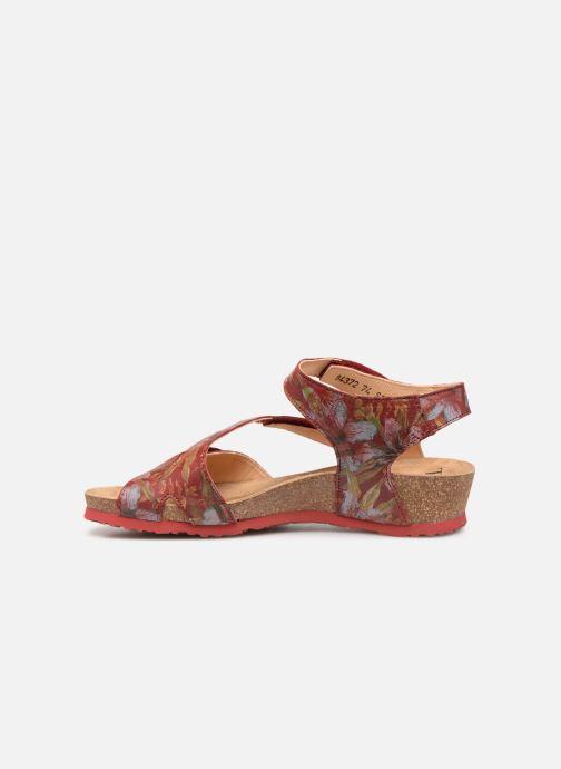 Sandales et nu-pieds Think! Dumia 84372 Rouge vue face