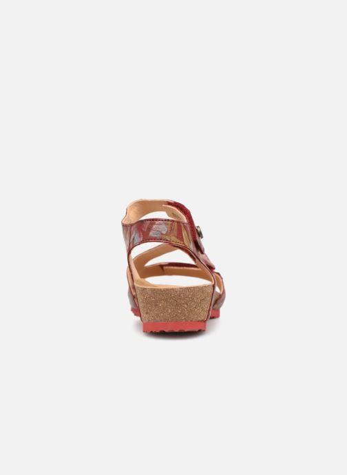 Sandales et nu-pieds Think! Dumia 84372 Rouge vue droite
