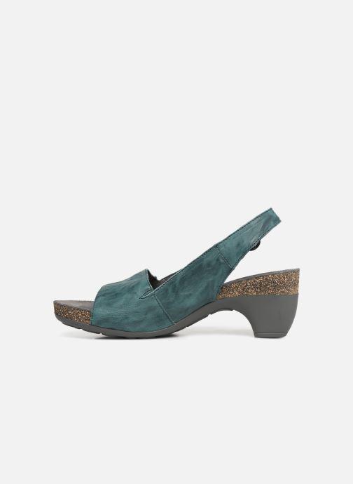 Sandales et nu-pieds Think! Traudi 84577 Vert vue face