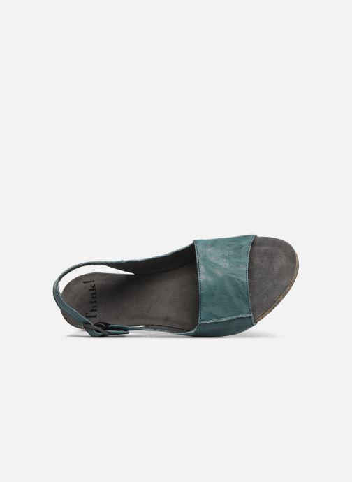 Sandales et nu-pieds Think! Traudi 84577 Vert vue gauche