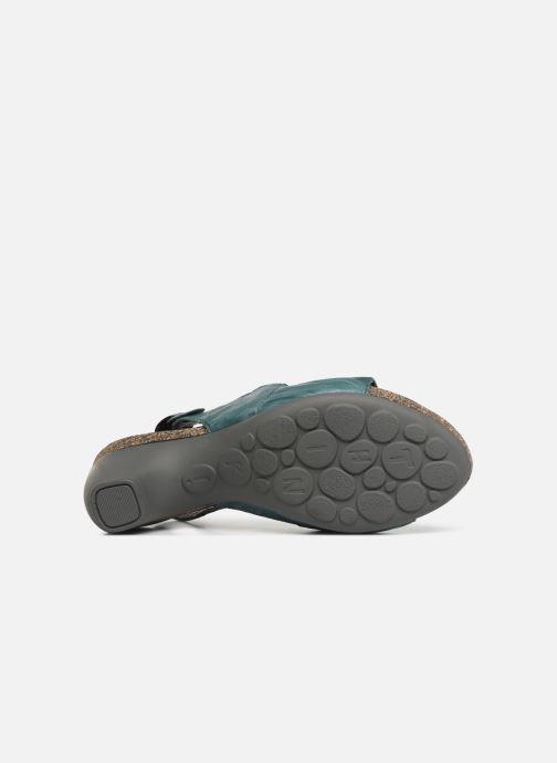 Sandales et nu-pieds Think! Traudi 84577 Vert vue haut