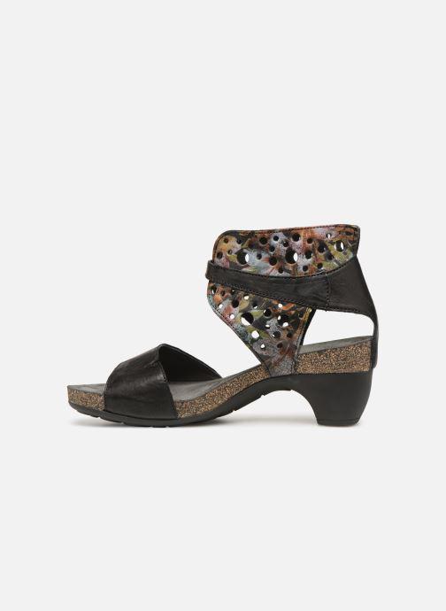 Sandales et nu-pieds Think! Traudi 84579 Noir vue face