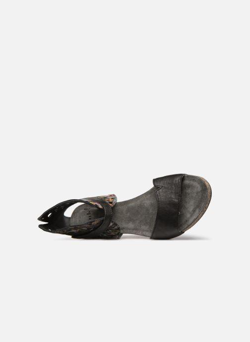 Sandales et nu-pieds Think! Traudi 84579 Noir vue gauche