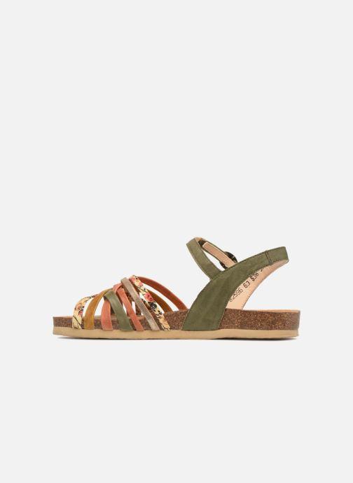ThinkShik Sandales pieds Olivkombi Nu 84596 Et 3RjLqc5A4