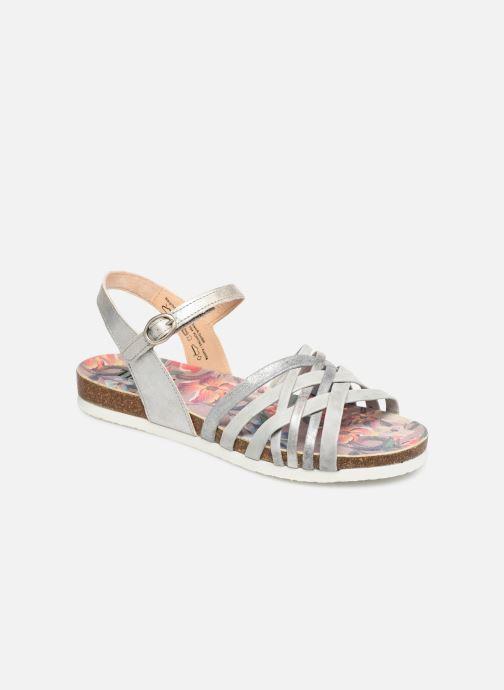 Sandaler Think! Shik 84596 Grå detaljeret billede af skoene