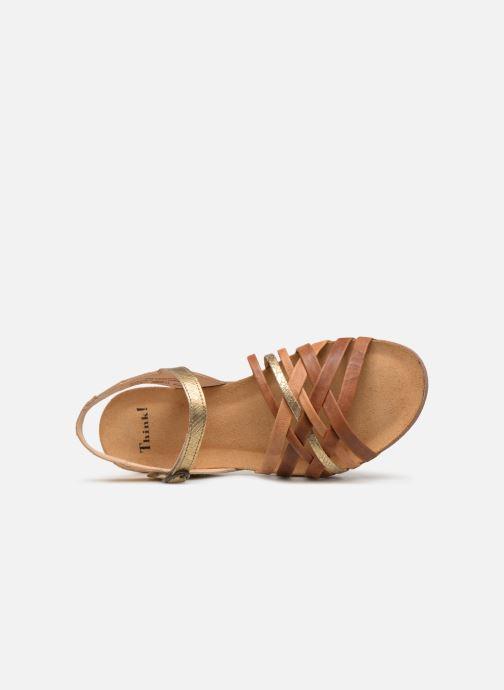 Sandales et nu-pieds Think! Shik 84596 Multicolore vue gauche