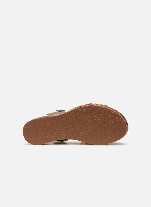 Sandales et nu-pieds Think! Shik 84596 Multicolore vue haut