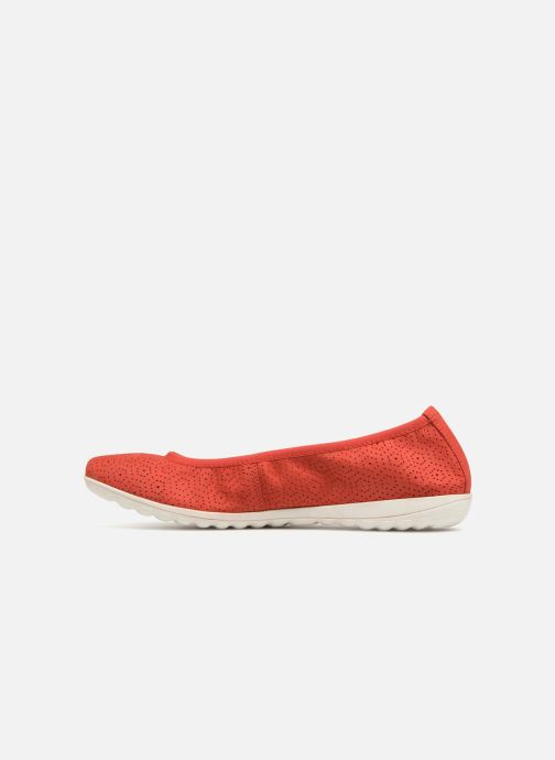 Ballet pumps Caprice Anna Red front view