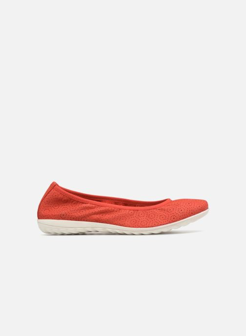 Ballet pumps Caprice Anna Red back view