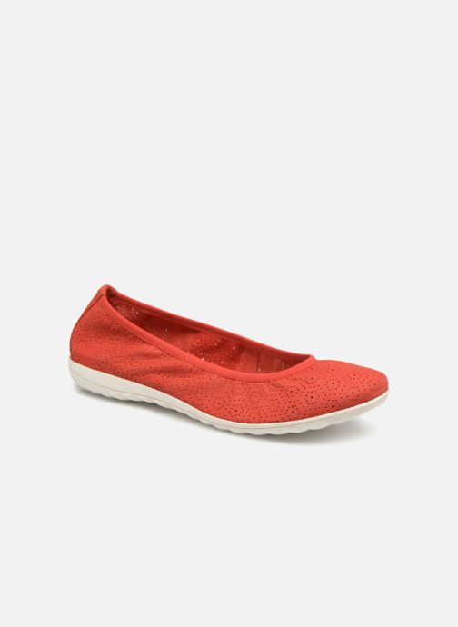 Ballet pumps Caprice Anna Red detailed view/ Pair view