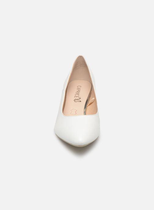 Escarpins Caprice Sarina Blanc vue portées chaussures